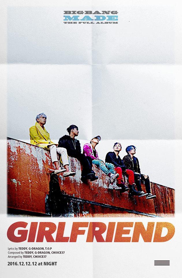 Tags: YG Entertainment, K-Pop, BIGBANG, Taeyang, Seungri, T.O.P., G-Dragon, Kang Daesung, MADE, Poster