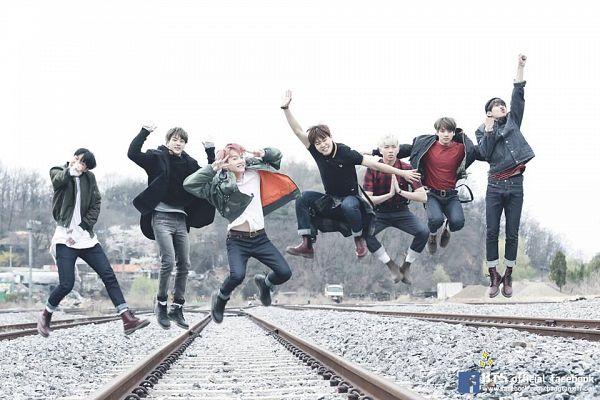Tags: K-Pop, BTS, I NEED U, Suga, Jungkook, Jin, V (Kim Taehyung), Rap Monster, Park Jimin, J-Hope, V Gesture, Jeans