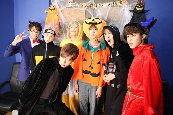 Tags: K-Pop, BTS, Jin, V (Kim Taehyung), Rap Monster, Park Jimin, J-Hope, Suga, Jungkook, Glasses, Serious, Blue Outerwear
