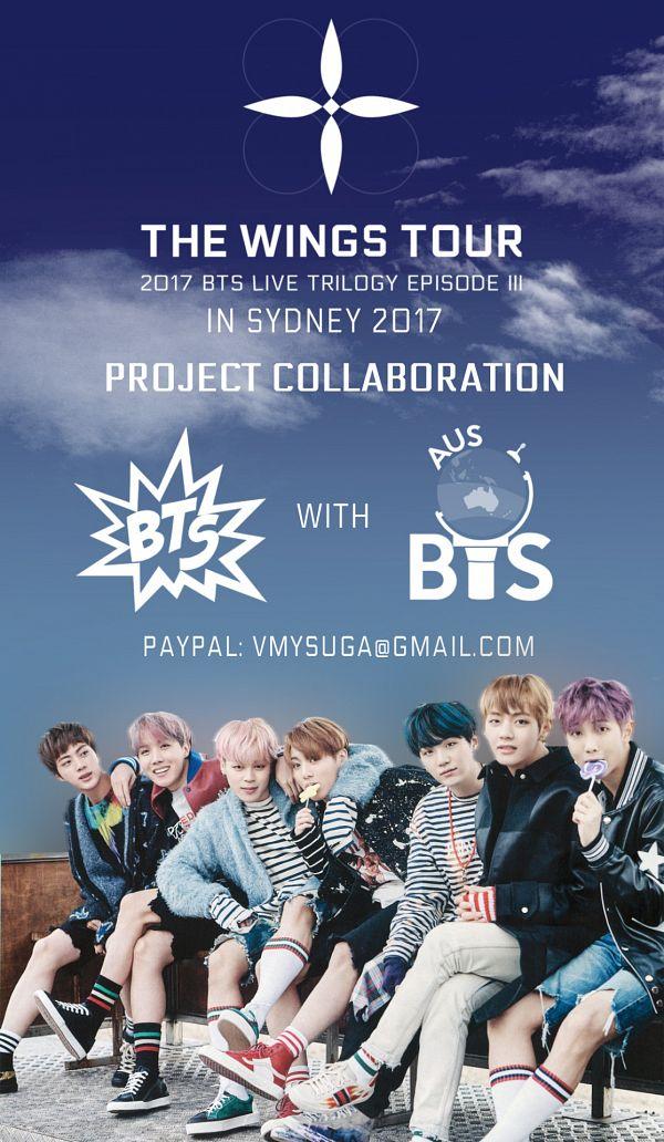 Tags: K-Pop, BTS, Suga, Jungkook, Jin, V (Kim Taehyung), Rap Monster, Park Jimin, J-Hope, Striped, English Text, Blue Outerwear