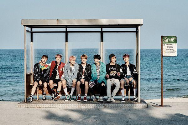 Tags: K-Pop, BTS, Suga, Jungkook, Jin, V (Kim Taehyung), Rap Monster, Park Jimin, J-Hope, Black Gloves, White Legwear, Belt