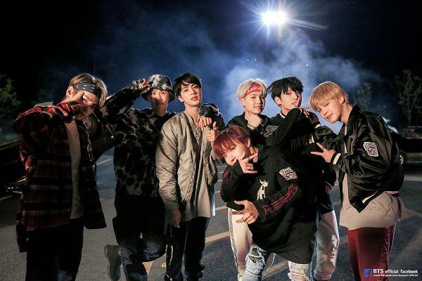 Tags: K-Pop, BTS, MIC Drop, Suga, Jungkook, Jin, V (Kim Taehyung), Rap Monster, Park Jimin, J-Hope, Black Jacket, Full Group