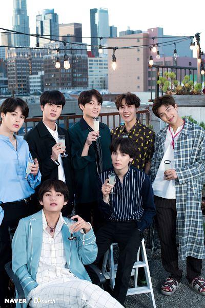 Tags: K-Pop, BTS, V (Kim Taehyung), Rap Monster, Park Jimin, J-Hope, Suga, Jungkook, Jin, Hair Ornament, Necklace, Black Pants