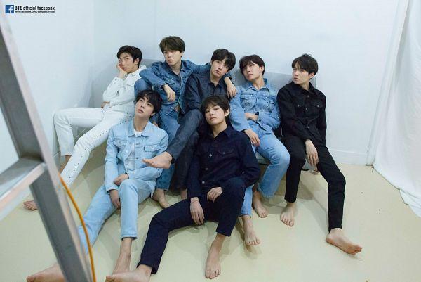 Tags: K-Pop, BTS, V (Kim Taehyung), Rap Monster, Park Jimin, J-Hope, Suga, Jungkook, Jin, Text: URL, English Text, Full Group