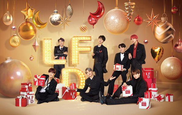 Tags: K-Pop, BTS, Rap Monster, Park Jimin, J-Hope, Suga, Jungkook, Jin, V (Kim Taehyung), Head Tilt, Suit, Black Outerwear
