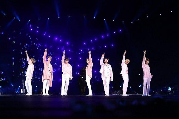 Tags: K-Pop, BTS, Best Of Me, V (Kim Taehyung), Rap Monster, Park Jimin, J-Hope, Suga, Jungkook, Jin, Stage, Group