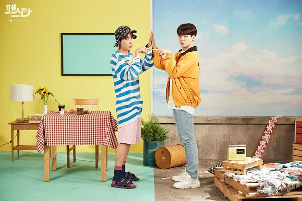 Tags: K-Pop, BTS, Daydream, Euphoria, Jungkook, J-Hope, Duo, Two Males, English Text, Korean Text, Twitter, Hope World