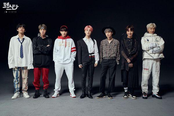 Tags: K-Pop, BTS, Anpanman, IDOL (Song), Fake Love, Airplane pt.2, MIC Drop, Go Go, DNA, V (Kim Taehyung), Rap Monster, Park Jimin
