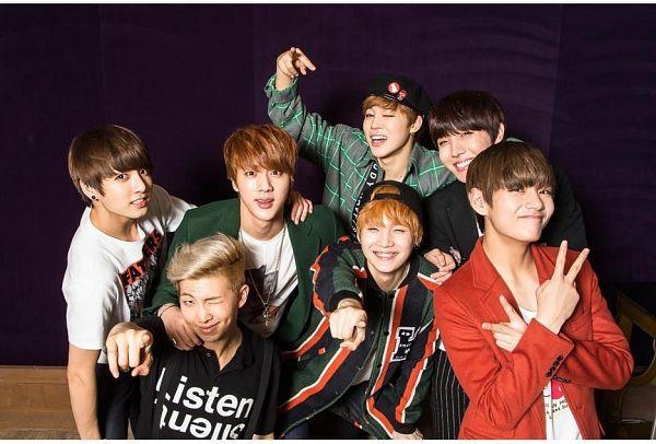 Tags: K-Pop, BTS, J-Hope, Suga, Jungkook, Jin, V (Kim Taehyung), Rap Monster, Park Jimin, Hat, Plaided Shirt, Red Jacket