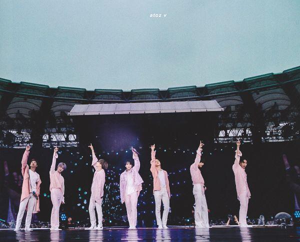 Tags: K-Pop, BTS, Best Of Me, Park Jimin, J-Hope, Suga, Jungkook, Jin, V (Kim Taehyung), Rap Monster, Pink Outerwear, Group