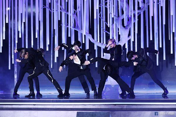 Tags: K-Pop, Television Show, BTS, Black Swan, Rap Monster, Park Jimin, J-Hope, Suga, Jungkook, Jin, V (Kim Taehyung), Full Group