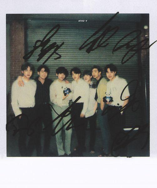 Tags: K-Pop, BTS, Suga, Jungkook, Jin, V (Kim Taehyung), Rap Monster, Park Jimin, J-Hope, Full Group, Stuffed Animal, Black Pants