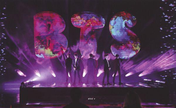 Tags: K-Pop, BTS, V (Kim Taehyung), Rap Monster, Park Jimin, J-Hope, Suga, Jungkook, Jin, Full Group, Spotlight, Back