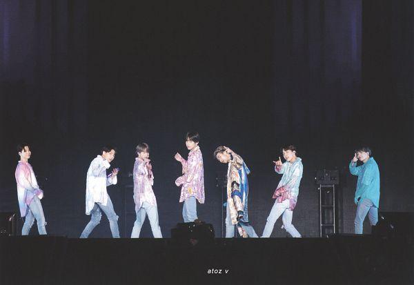 Tags: K-Pop, BTS, Boy With Luv, J-Hope, Suga, Jungkook, Jin, V (Kim Taehyung), Rap Monster, Park Jimin, Back, Ripped Pants