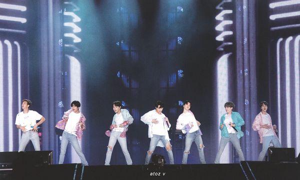 Tags: K-Pop, BTS, Boy With Luv, J-Hope, Suga, Jungkook, Jin, V (Kim Taehyung), Rap Monster, Park Jimin, White Jacket, Full Group