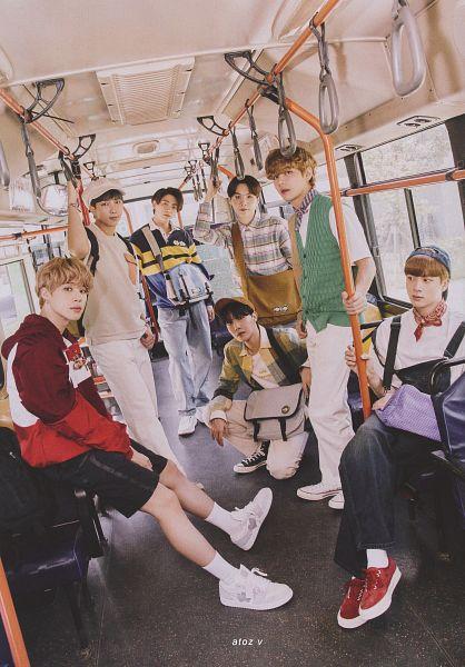 Tags: K-Pop, BTS, Suga, Jungkook, Jin, V (Kim Taehyung), Rap Monster, Park Jimin, J-Hope, Vest, Full Group, Hood