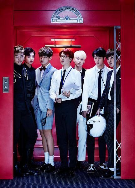 Tags: K-Pop, BTS, DOPE, Jin, V (Kim Taehyung), Rap Monster, Park Jimin, J-Hope, Suga, Jungkook, Magnifying Glass, Group