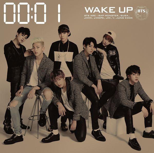 Tags: K-Pop, BTS, Suga, Jungkook, Jin, V (Kim Taehyung), Rap Monster, Park Jimin, J-Hope, Blonde Hair, Necklace, Ring