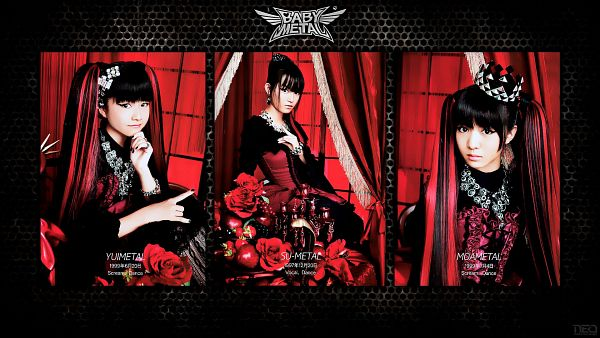 Tags: J-Pop, Babymetal, Yuimetal, Moametal, Su-metal, HD Wallpaper, Wallpaper
