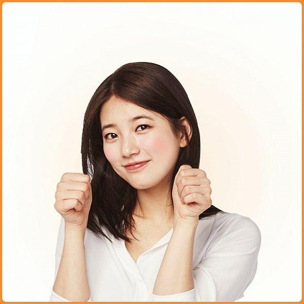 Tags: K-Pop, Miss A, Bae Suzy, White Background, Medium Hair, Light Background, Vita 500