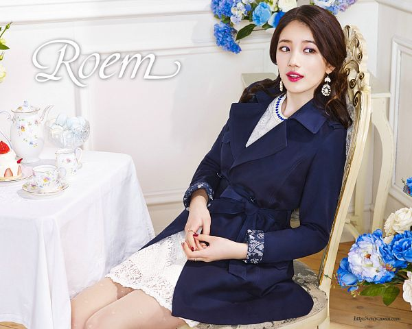 Tags: K-Pop, Miss A, Bae Suzy, Chair, Make Up, White Dress, Nail Polish, Black Outerwear, Sitting On Chair, White Skirt, Sweets, White Outfit