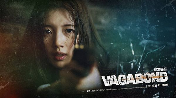 Tags: K-Pop, K-Drama, Bae Suzy, Gun, English Text, Serious, Holding Weapon, Text: Series Name, Weapons, Looking Ahead, Black Eyes, Korean Text