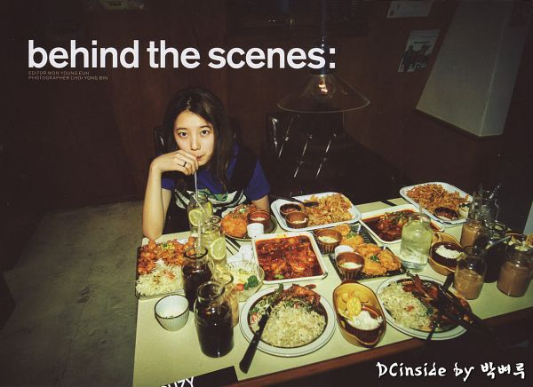 Tags: K-Pop, Miss A, Bae Suzy, Blue Shirt, Fruits, Fried Chicken, Lemon, Rice, Food, Meat, Pasta, Vegetables