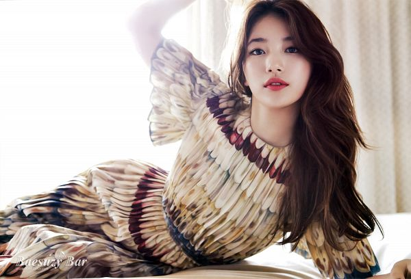 Tags: K-Pop, Miss A, Bae Suzy, Red Lips, Magazine Scan, Wallpaper, Elle Korea