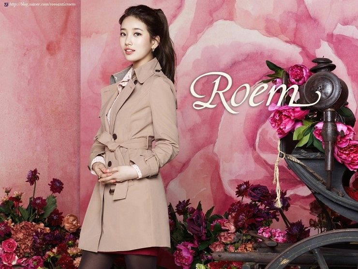 Tags: K-Pop, Miss A, Bae Suzy, Skirt, Hair Up, Flower, Make Up, Ponytail, Red Flower, Pink Flower, Coat, Pantyhose