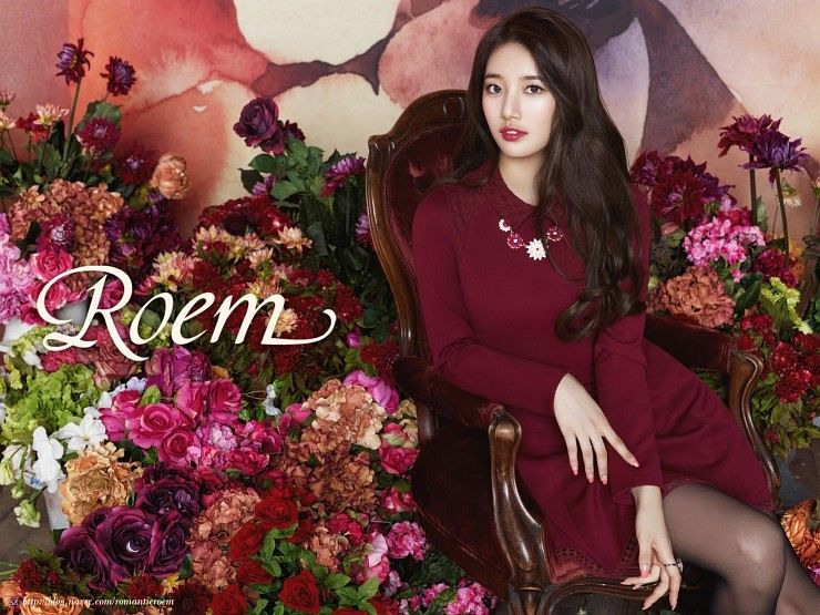 Tags: K-Pop, Miss A, Bae Suzy, Ring, Red Flower, Make Up, Green Flower, Necklace, Red Outfit, Pink Flower, Orange Flower, Flower