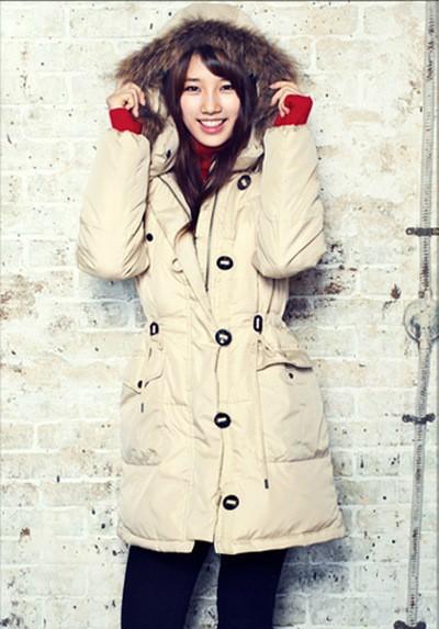 Tags: K-Pop, Miss A, Bae Suzy, Coat, Fur, Fur Trim, Hoodie, Grin, Edwin