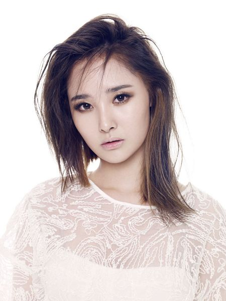 Tags: K-Pop, Dal Shabet, Bae Woo-hee, Medium Hair, Light Background, White Background, Android/iPhone Wallpaper