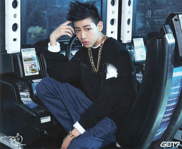 Tags: K-Pop, Got7, BamBam, Necklace, Chains, Blue Pants, Serious, Scan, Identify