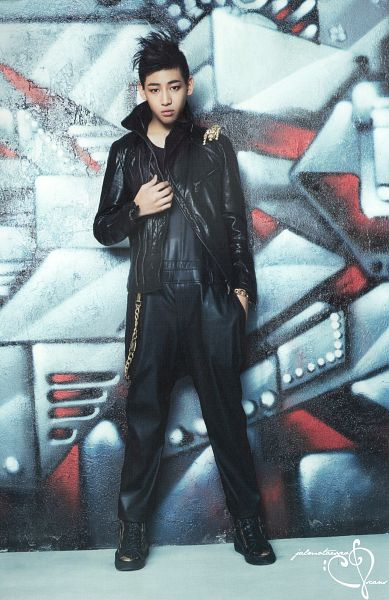 Tags: K-Pop, Got7, BamBam, Leather Jacket, Serious, Black Pants, Hand In Pocket, Android/iPhone Wallpaper, Identify, Scan