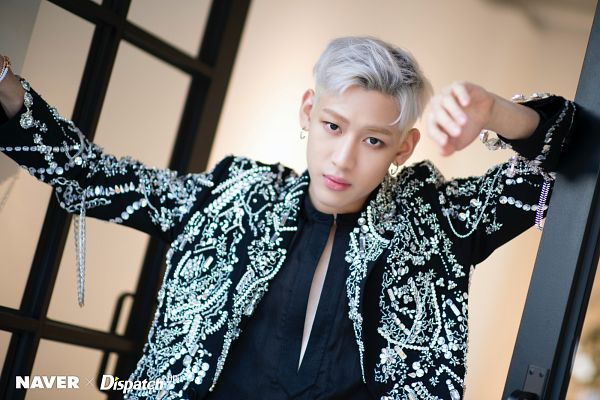 Tags: K-Pop, Got7, BamBam, Window, Serious, White Hair, Dispatch