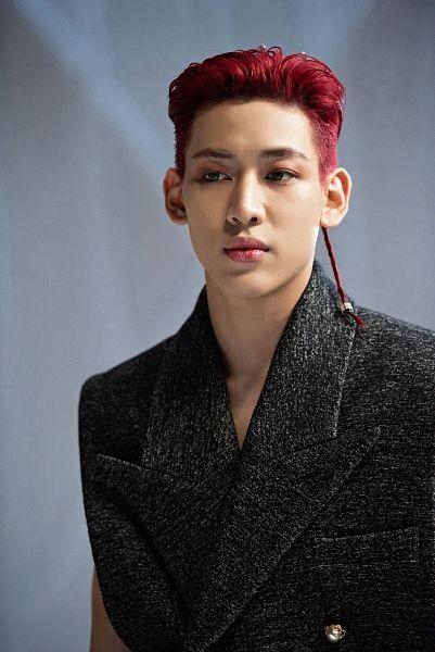 Tags: K-Pop, Got7, BamBam, Facial Mark, Serious, Red Hair, Mole, Breath Of Love: Last Piece