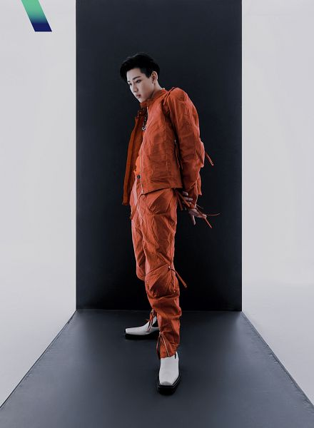 Tags: K-Pop, Got7, BamBam, Orange Pants, Serious, White Footwear
