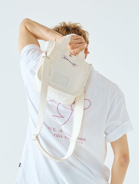 Tags: K-Pop, Got7, BamBam, White Background, Bag, Short Sleeves, Back, Light Background, Charm's
