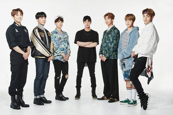 Tags: K-Pop, Bangtan Boys, Jungkook, Jin, V (Kim Taehyung), Rap Monster, Park Jimin, J-Hope, Suga, Light Background, Turtleneck, Hat