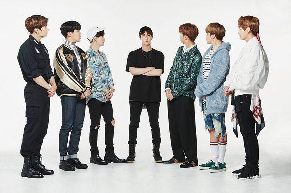 Tags: K-Pop, Bangtan Boys, Park Jimin, J-Hope, Suga, Jungkook, Jin, V (Kim Taehyung), Rap Monster, Lingerie, White Outfit, Full Body