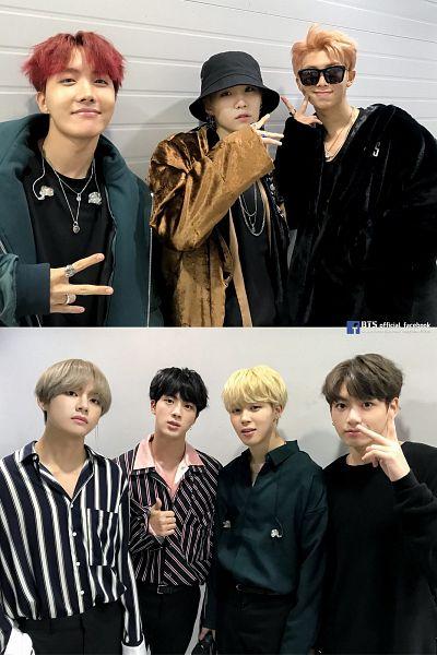 Tags: K-Pop, Bangtan Boys, J-Hope, Suga, Jungkook, Jin, V (Kim Taehyung), Rap Monster, Park Jimin, Shadow, Sunglasses, Sweater