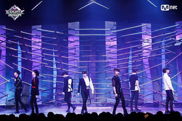 Tags: K-Pop, Television Show, Bangtan Boys, Fake Love, V (Kim Taehyung), Rap Monster, Park Jimin, J-Hope, Suga, Jungkook, Jin, Side View