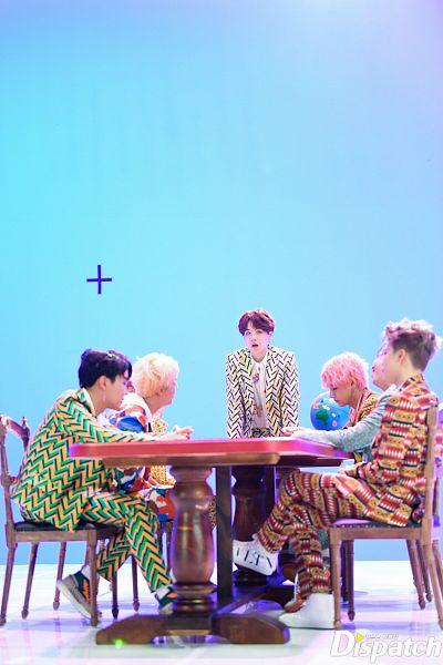 Tags: K-Pop, Bangtan Boys, IDOL (Song), J-Hope, Suga, Jungkook, Jin, V (Kim Taehyung), Rap Monster, Park Jimin, Full Group, Group