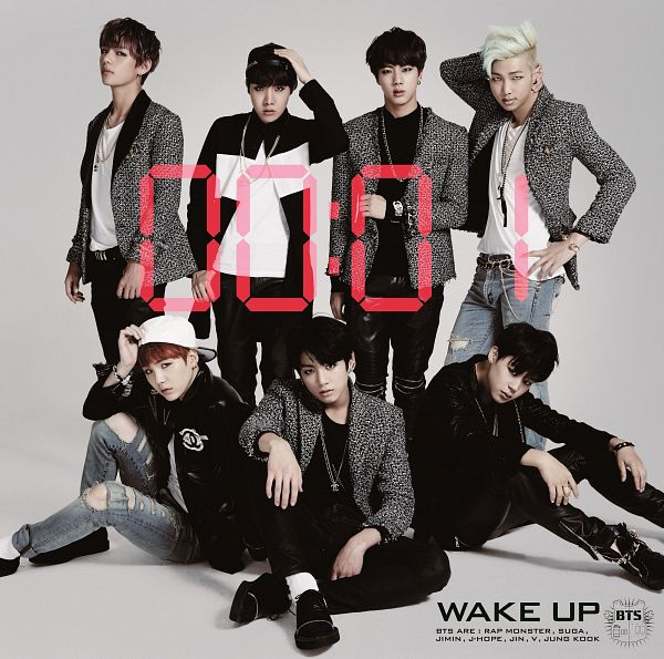 Tags: K-Pop, Bangtan Boys, Suga, Jungkook, Jin, V (Kim Taehyung), Rap Monster, Park Jimin, J-Hope, Full Body, Black Outerwear, Necklace