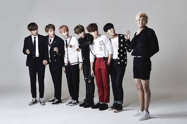 Tags: K-Pop, Bangtan Boys, Suga, Jungkook, Jin, V (Kim Taehyung), Rap Monster, Park Jimin, J-Hope, Wallpaper