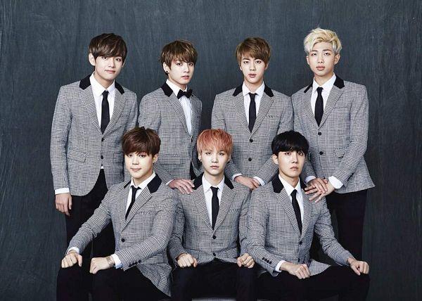 Tags: K-Pop, Bangtan Boys, Suga, Jungkook, Jin, V (Kim Taehyung), Rap Monster, Park Jimin, J-Hope, Group