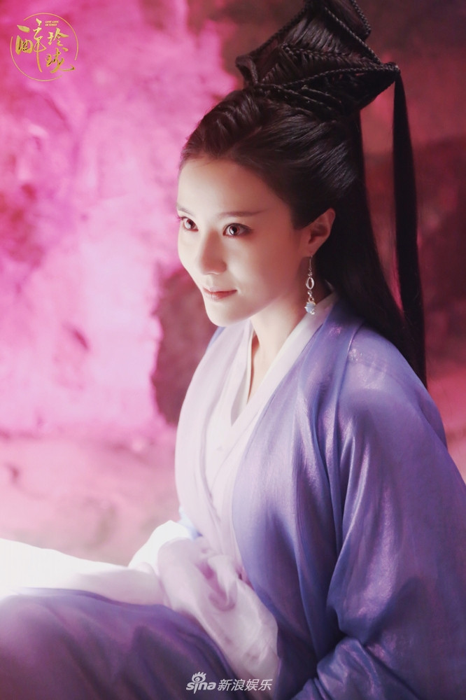 Tags: C-Drama, Bao Tianqi, Looking Ahead, Chinese Clothes, Purple Outfit, Traditional Clothes, Purple Dress, Chinese Text, Lost Love In Times