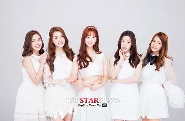 Tags: K-Pop, Berry Good, Because Of You, Gowoon, Taeha, Kang Sehyung, Daye, Seoyul, Quintet, Full Group, Group, Five Girls