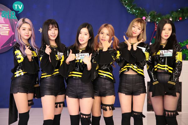 Tags: JTG Entertainment, K-Pop, Berry Good, Seoyul, Gowoon, Taeha, Johyun, Kang Sehyung, Daye, Shorts, Flower Gesture, Black Shorts