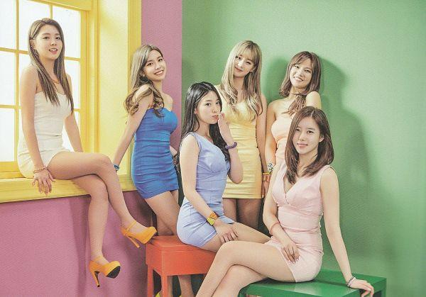 Tags: K-Pop, Berry Good, Bibbidi Bobbidi Boo, Seoyul, Gowoon, Taeha, Kang Sehyung, Daye, Johyun, White Dress, Pink Outfit, Pink Dress